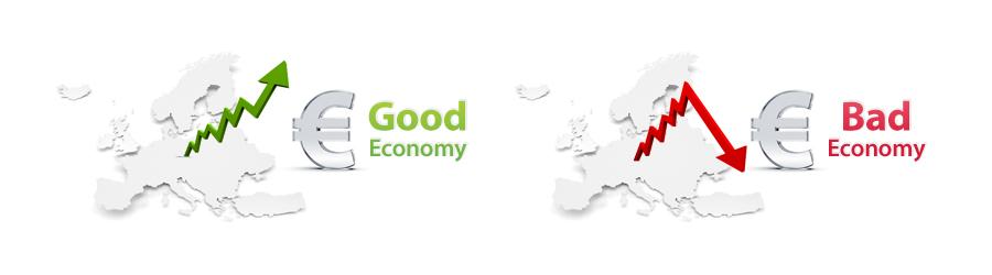 good economy bad economy