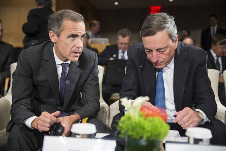 trading central banks