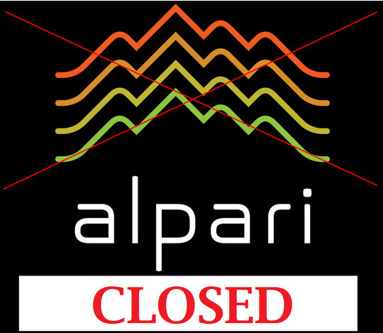 Alpari UK shut down following the SNB actions on January 15th.