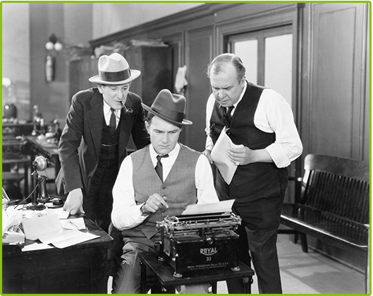 Foreign exchange brokers on their dealing desk