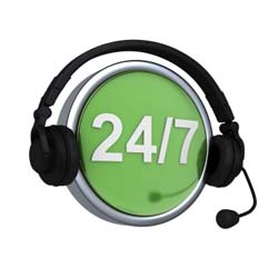 customer service and support 24/7