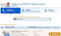 start trading with fxcm in 3 quick steps